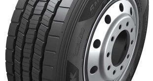 Hankook vállalat bemutatja új SmartControl TW01 speciális téli gumiabroncsát tehergépjármű pótkocsikhoz.