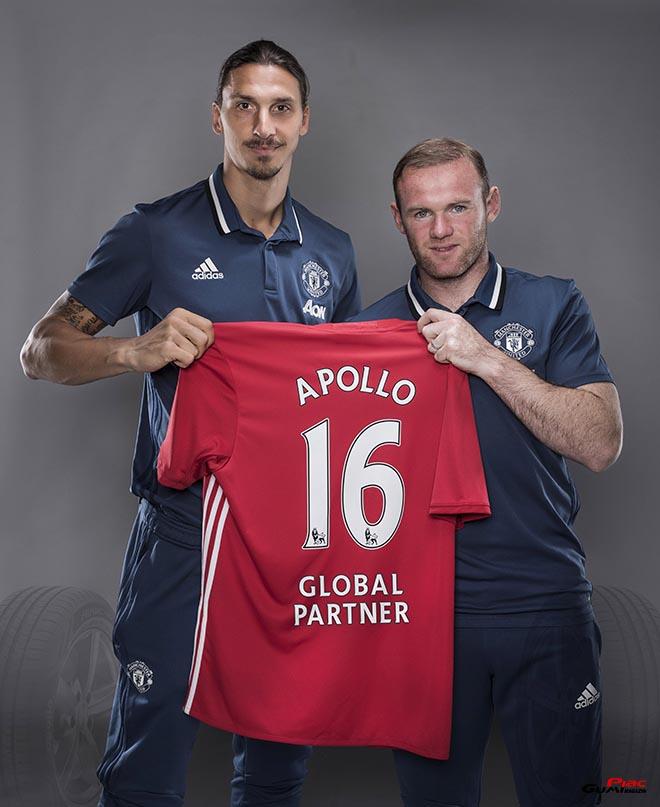 Az Apollo Tyres és a Manchester United a világ minden részére érvényes, 3 évre szóló megállapodást kötött
