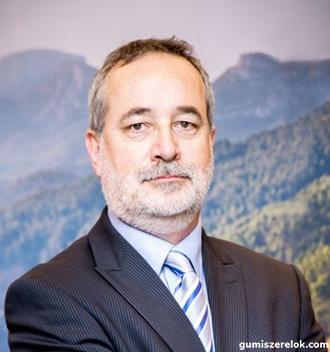 Duna András, a Bridgestone Tatabánya Termelő Kft. humánerőforrás igazgatója