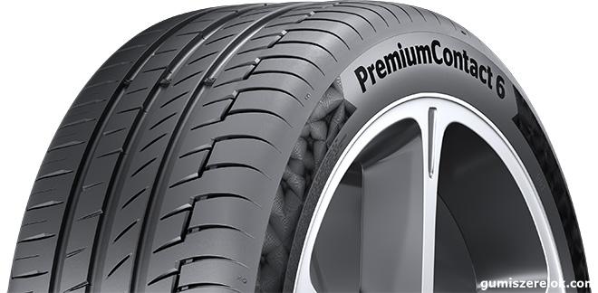 A tizenhat tesztelt, kompakt és középkategóriás modellekhez készült, 18 colos gumiabroncs közül a PremiumContact 6 végzett az élen, megosztva az első helyet az egyik versenytárs termékével.