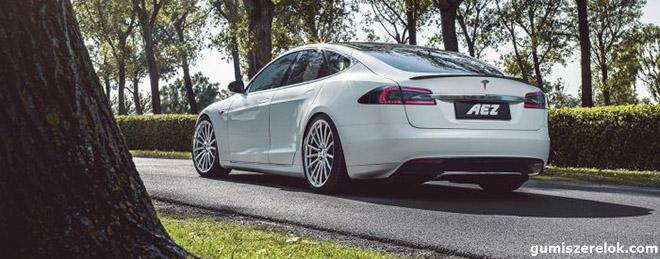 Az AEZ Steam.forged az első AEZ kovácsolt kerék az ECE jóváhagyásával, amely egyenes utat jelent a Tesla Motors S és X modellekhez.