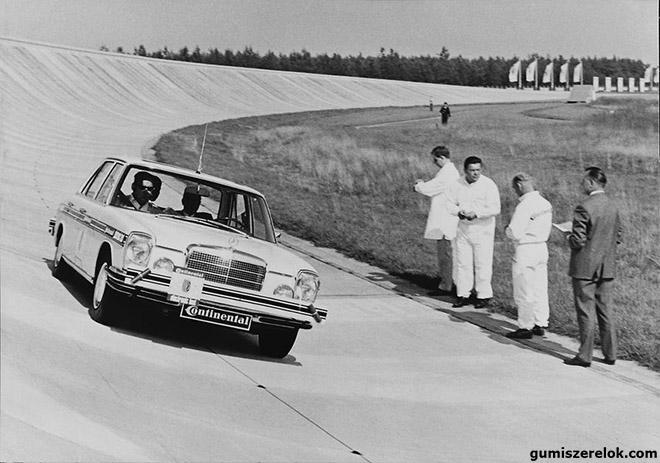 A Continental 50 éve alkotta meg az első sofőr nélküli autót