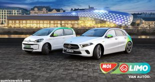 Ultranagy teljesítményű téli abroncsokat kaptak a MOL Limo Mercedes-Benz modelljei. A flotta prémium autóira a Hankook kifejezetten felsőkategóriás személygépkocsira fejlesztett termékei kerülnek, amelyek még tovább emelik a vezetési élményt.