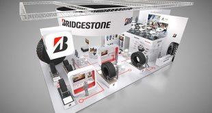 A Bridgestone standja: A6 csarnok, 115-ös stand 2019. április 8-tól 14-ig Munich Messe, München, Németország