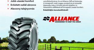 A nagyteljesítményű traktorok igáslova. A nagy teljesítményű traktorok megkövetelik a csúcsteljesítményt, és az Alliance 360 ezt biztosítja.