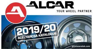 Megjelent a 2019/2020-as ALCAR Acéltárcsa katalógus Benne a frissített acél-, hybrid és offroad kínálat