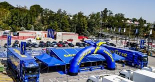 FIA World Endurance bajnokságban a legújabb fejlesztésű Goodyear Eagle SuperSport versenygumikat kapják a 2020-2021-es szezonban