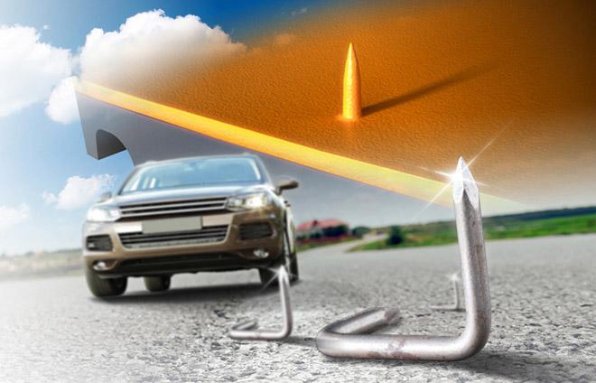 A jövőben a Continental ContiSeal tömítő technológiáját a kisteherautó-abroncsokban is alkalmazza.
