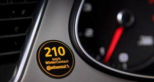 Németországban matrica figyelmezteti az autósokat az abroncsok maximális sebességére