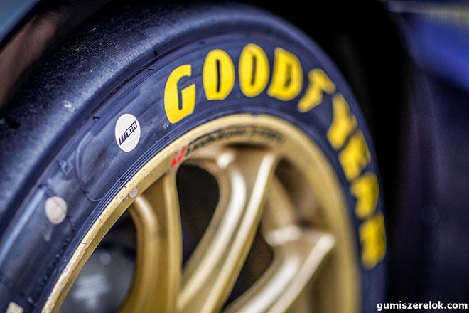 A rangos versenysorozat a Goodyeart választotta kizárólagos abroncsszállítójának.
