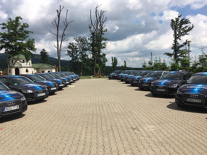 A 2016-ban indított 2. Courtesy CAR program sztár autója, az Audi A1 volt. Itt már több mint 20 autó talált gazdára partnereink között.