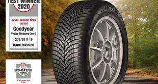 """A Vector 4Seasons Gen-3 teljesítményét neves magazinok is elismerték, például a német Auto Bild (2020-39-es szám), amely az abroncsot tesztgyőztesnek választotta a négy évszakos abroncsok tesztjén, valamint az egyesült királysági online Tyre Reviews, amelynek a 17""""-os négy évszakos abroncsok 2020-as tesztjén a termék szintén győztesként bizonyított."""