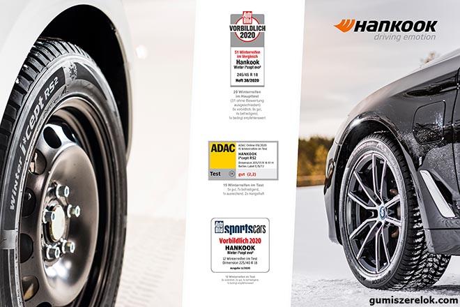 A Hankook i*cept RS 2 és az új Winter i*cept evo 3 modellek egyaránt remek választásnak bizonyulnak a mostani téli szezonra.