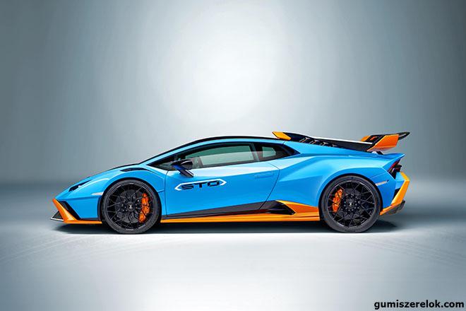 Ahogy a Lamborghini Huracán STO, úgy a Potenza gumik is a technológia és a dizájn tökéletes ötvözetét képezik.