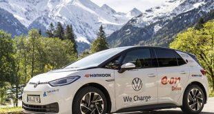 Az új Hankook Winter i*cept evo 3 téli abroncsunk a nagyközönség számára is megmutathatja egyedülálló jellemzőit a VW ID.3-mal közös maratoni turnén