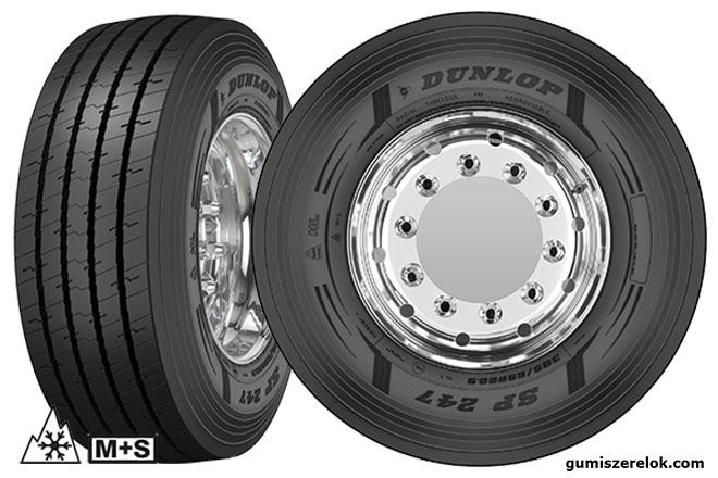 A Dunlop bevezeti új SP247 pótkocsiabroncs termék palettáját, amely fokozott négy évszakos teljesítményt, nagy futásteljesítményt és alacsony kilométerköltséget biztosít a flották számára.