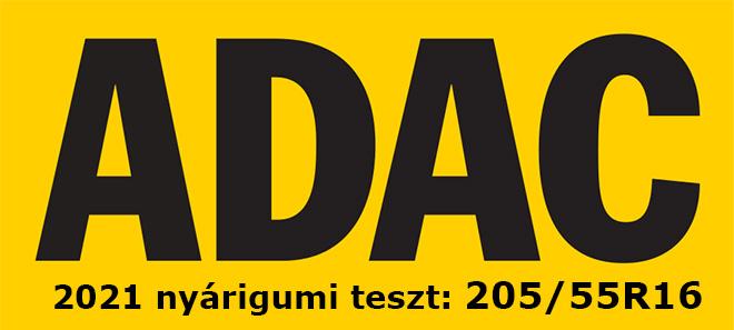 Ezúttal az ADAC nyári gumiabroncs-tesztjében 15, a jelenlegi legnépszerűbb méretű 205/55 R16 - os gumit tesztelt