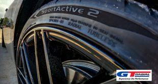 A Giti Tire új európai UHP abroncsa, a GT Radial SportActive 2 esetében körülbelül 15%-kal jobb a nedves fékezés, valamint 10%-kal jobb a nedves utakon való vezethetőség és a vízen való felúszással szembeni ellenállás.