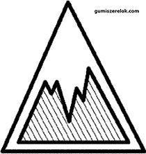 A jégtapadási jelzőszám vonatkozó minimumértékeit elérő gumiabroncsok gumiabroncscímkéjén a következő piktogramot kell feltüntetni: