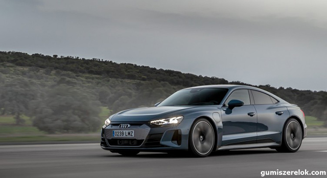 Az Audi, a Porsche és a Tesla a Goodyeart választja leggyorsabb elektromos modelljeik felszereléséhez
