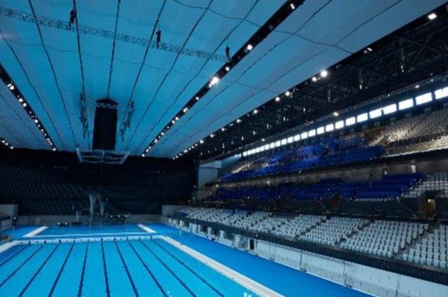 Bridgestone Tokyo olimpia uszoda