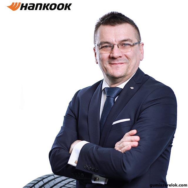 Juhos Attila, a Hankook Tire Budapest Kft. kereskedelmi igazgatója